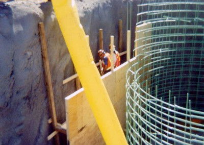 Forming for Collar Concrete