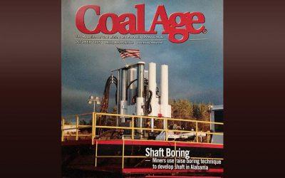 Cowin/Raisebor featured in Coal Age magazine